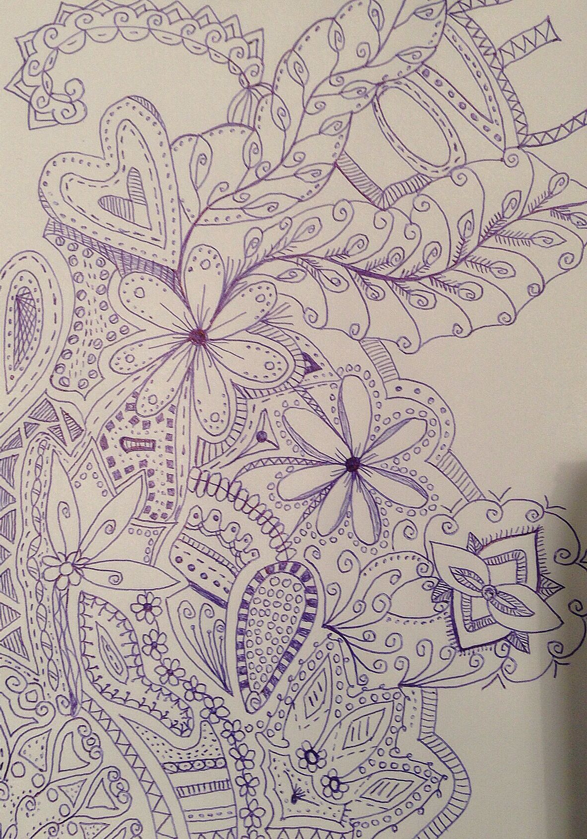 Doodling at scool:)