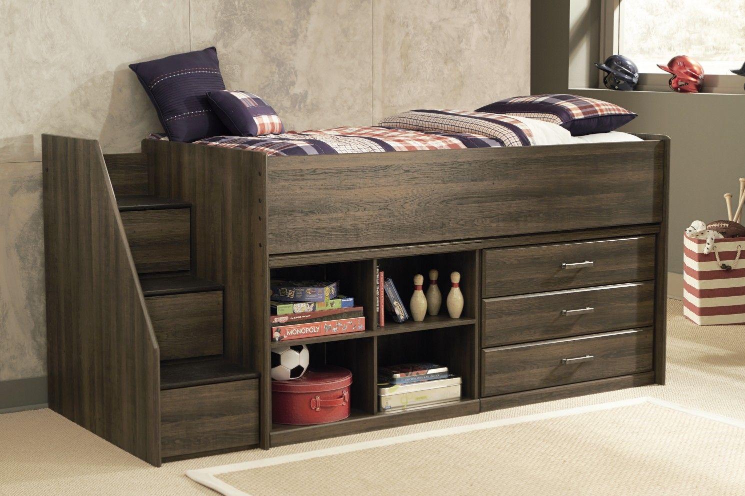 Best Ashley Juararo B251 68T Signature Design Loft Bed Low 640 x 480