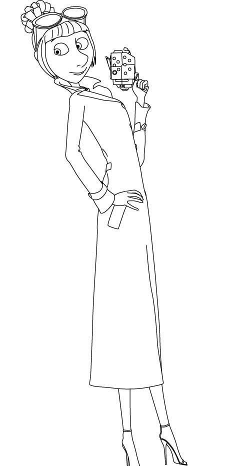 i love lucy coloring pages - lucy wilde despicable me 2 very happy coloring for kids