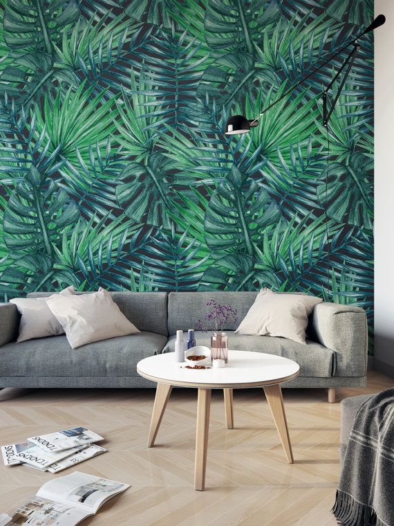 Vinyl Wallpaper Adhesive Wallpaper Which You Can Peel And Stick Anywhere You Like And You Will Not Need T Cabana Decor Kids Bedroom Decor Tropical Wall Decor