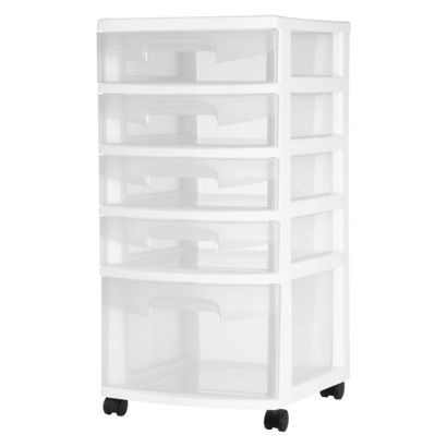 Arts And Crafts Storage Lots Of Smaller Drawers 5 Drawer Storage Storage Drawers Storage Cart