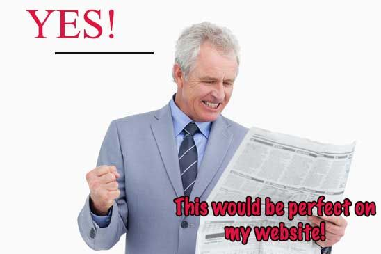 News Articles and Market Reports - Duplicates and SEO No No's