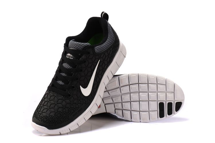 Nike Free 6.0 Spiderman Kangaroo Leather Handmade Black White
