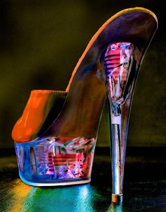 Vegas stripper shoes