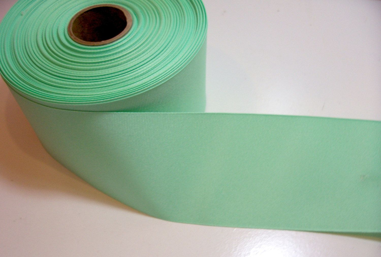 Wide Green Ribbon, Mint Green Grosgrain Ribbon 3 inches wide x 3 ...