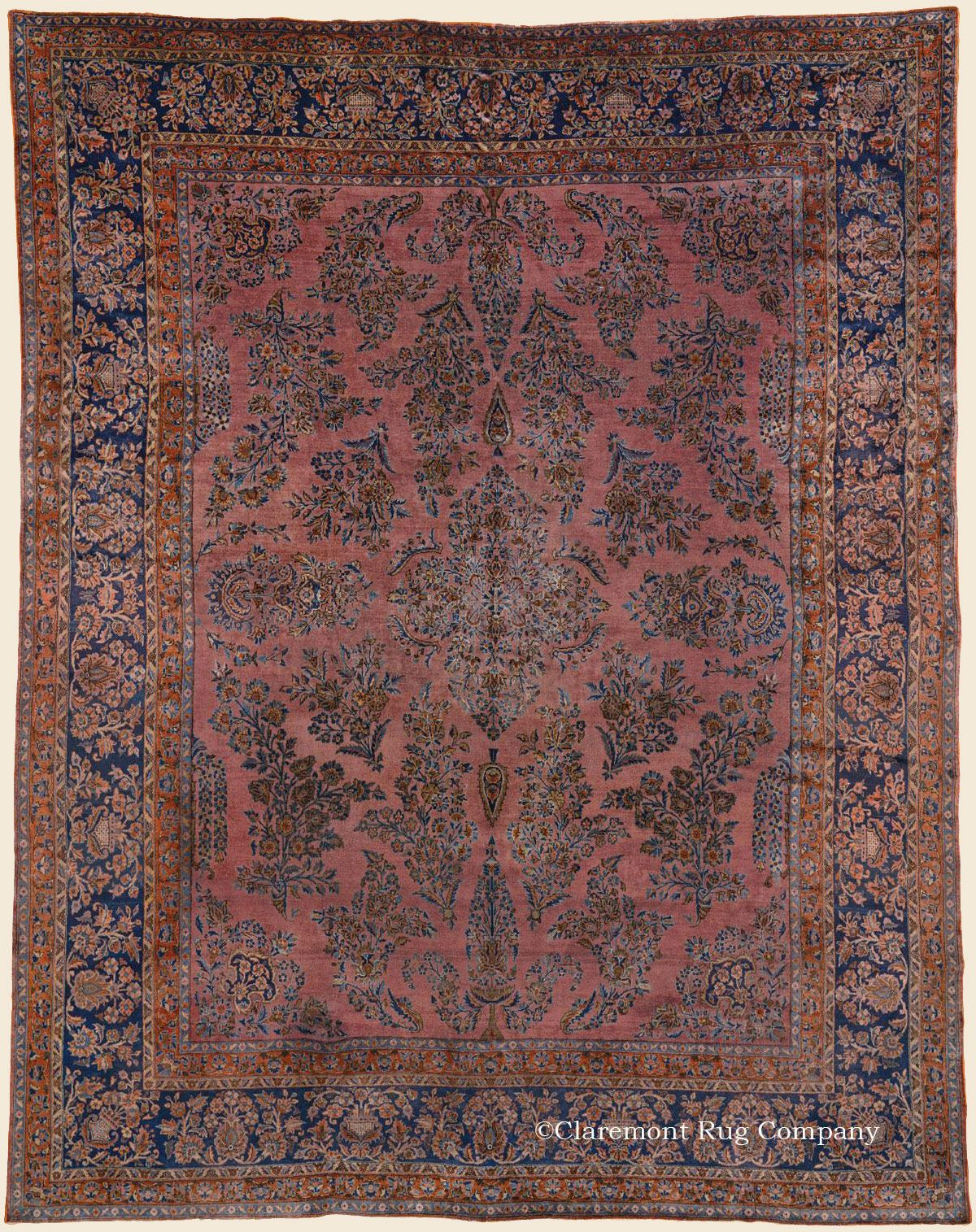 Manchester Kashan 8 9 X 11 0 Circa 1910 Price 9 000