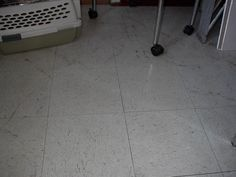 Removing Deep Scuffs From A Linoleum Tile Floor Clean