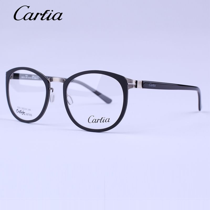 38ab976ec5 Carfia brand optical frame 7025 myopia computer reading glasses oculos de  grau feminino eye glasses frames for women glass men
