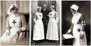 Image result for what did ww1 nurses wear