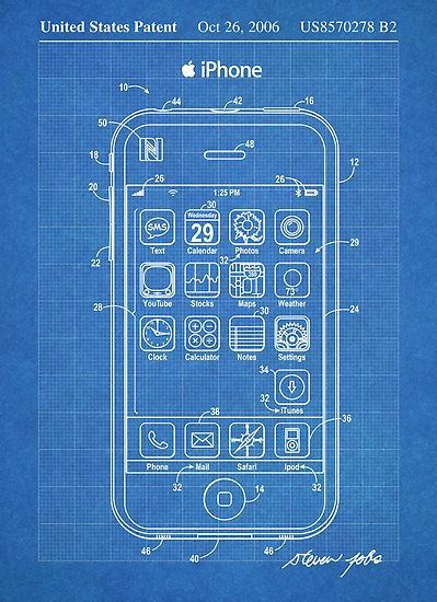 Apple iphone us patent art steve jobs blueprint art pinterest apple iphone us patent art steve jobs blueprint malvernweather Gallery