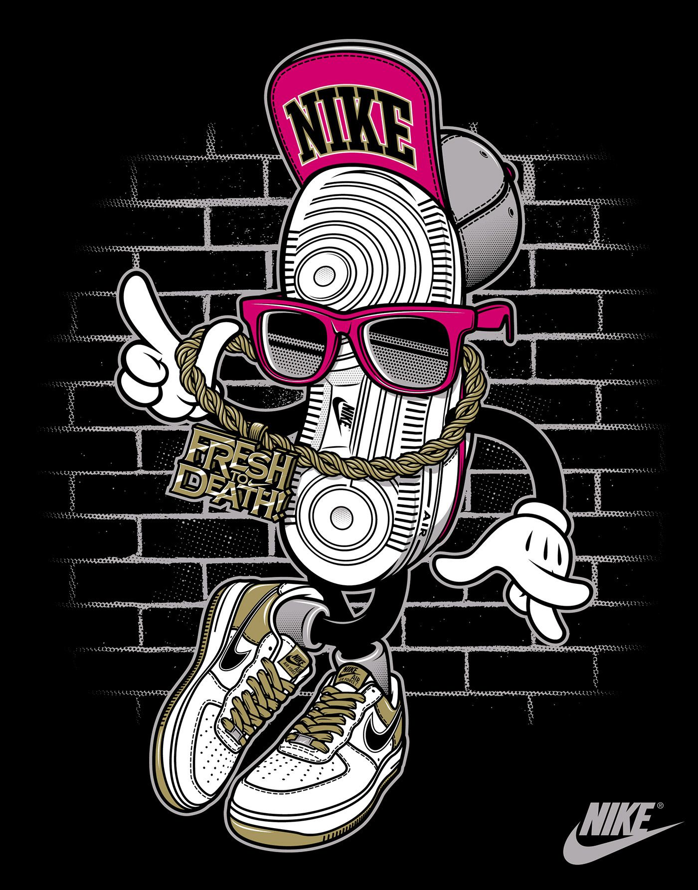Nike vs. Rusc • Young Athletes on Behance (With images)