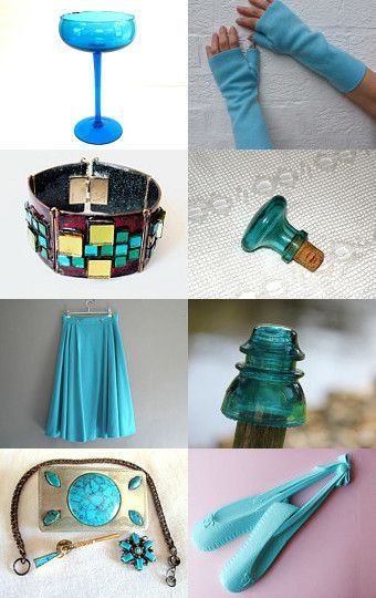 TRY TURQUOISE by ItseeBitsee on Etsy--Pinned with TreasuryPin.com
