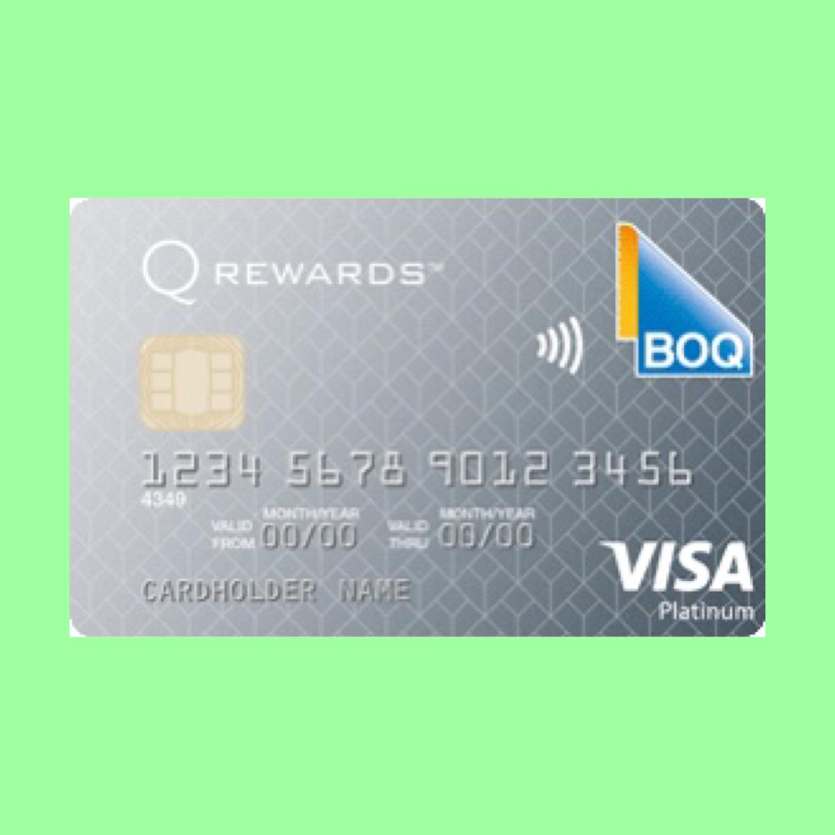 Boq Platinum Visa Credit Card The Point Calculator Visa Platinum Visa Credit Card Visa