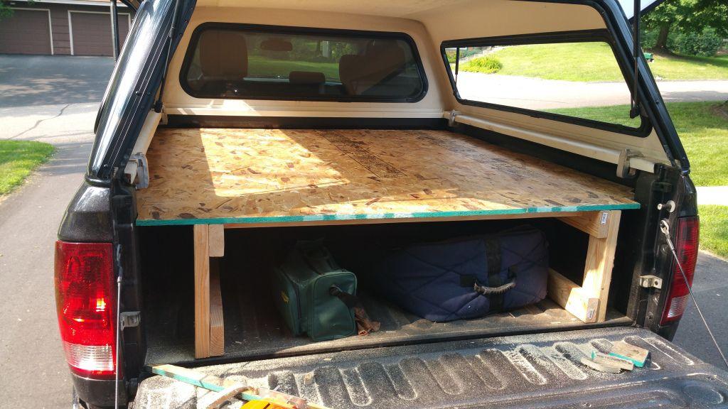 Pickup Truck Camping Platform Truck sleeper Truck bed