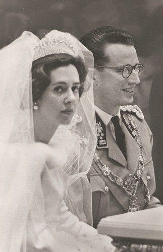 wedding of prince baudouin of belgium and fabiola mora & aragon
