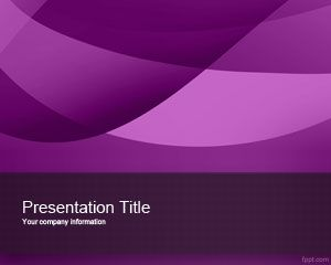 Free exotic violet powerpoint template is a nice abstract background free exotic violet powerpoint template is a nice abstract background design and simple violet template that toneelgroepblik Choice Image