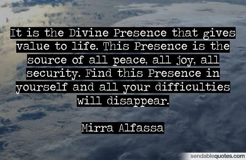 Image result for Presence of God quotes and sayings
