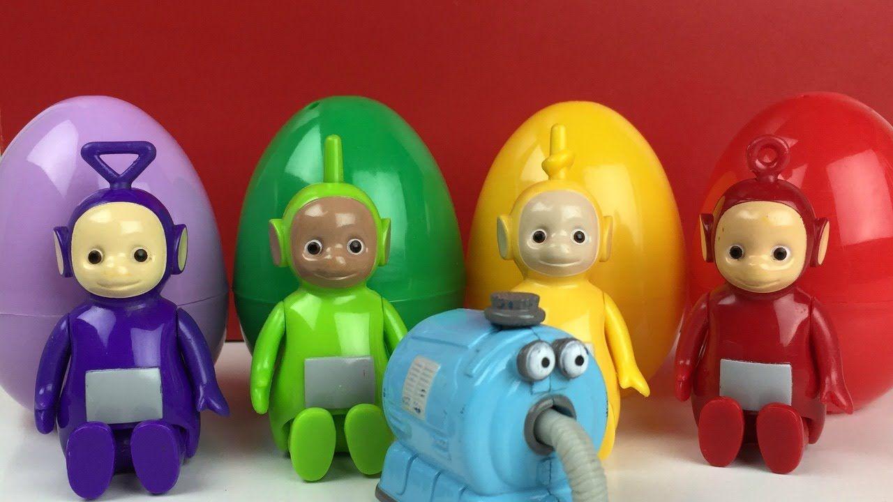 Laa Laa: Teletubbies Surprise Eggs Tinky Winky Dipsy Laa-Laa Po Noo