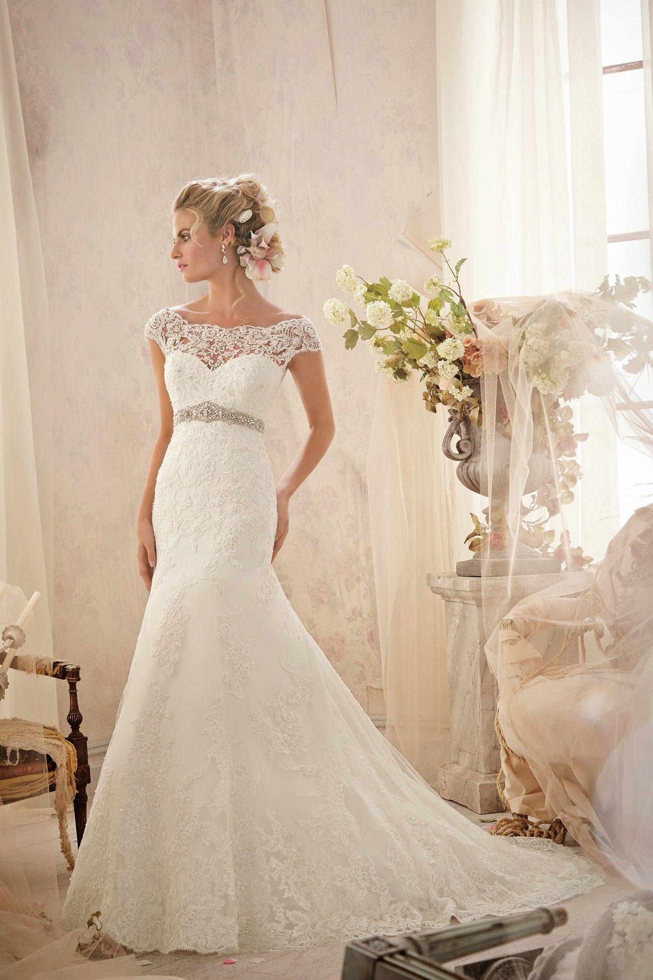Mori lee madeline gardner wedding dress  Wedding Dresses Bridesmaid Dresses Prom Dresses and Bridal Dresses