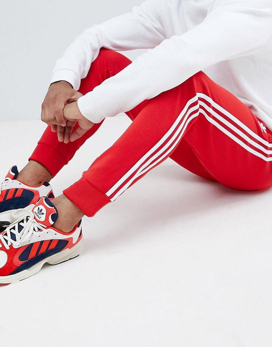 hot products top brands best prices ADIDAS ORIGINALS SUPERSTAR JOGGERS IN RED DH5837 - RED ...