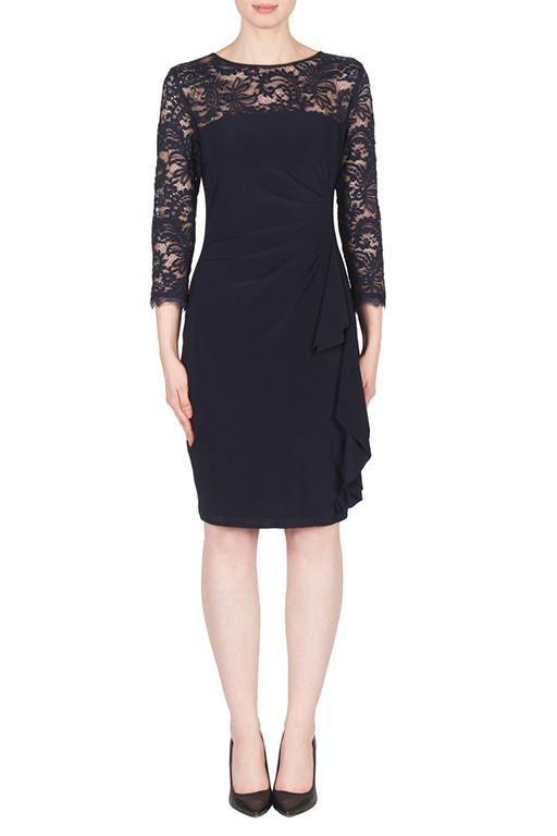 Joseph Ribkoff Lace Dress - Soline 173525 Buy Online | Wardrobe Fashion