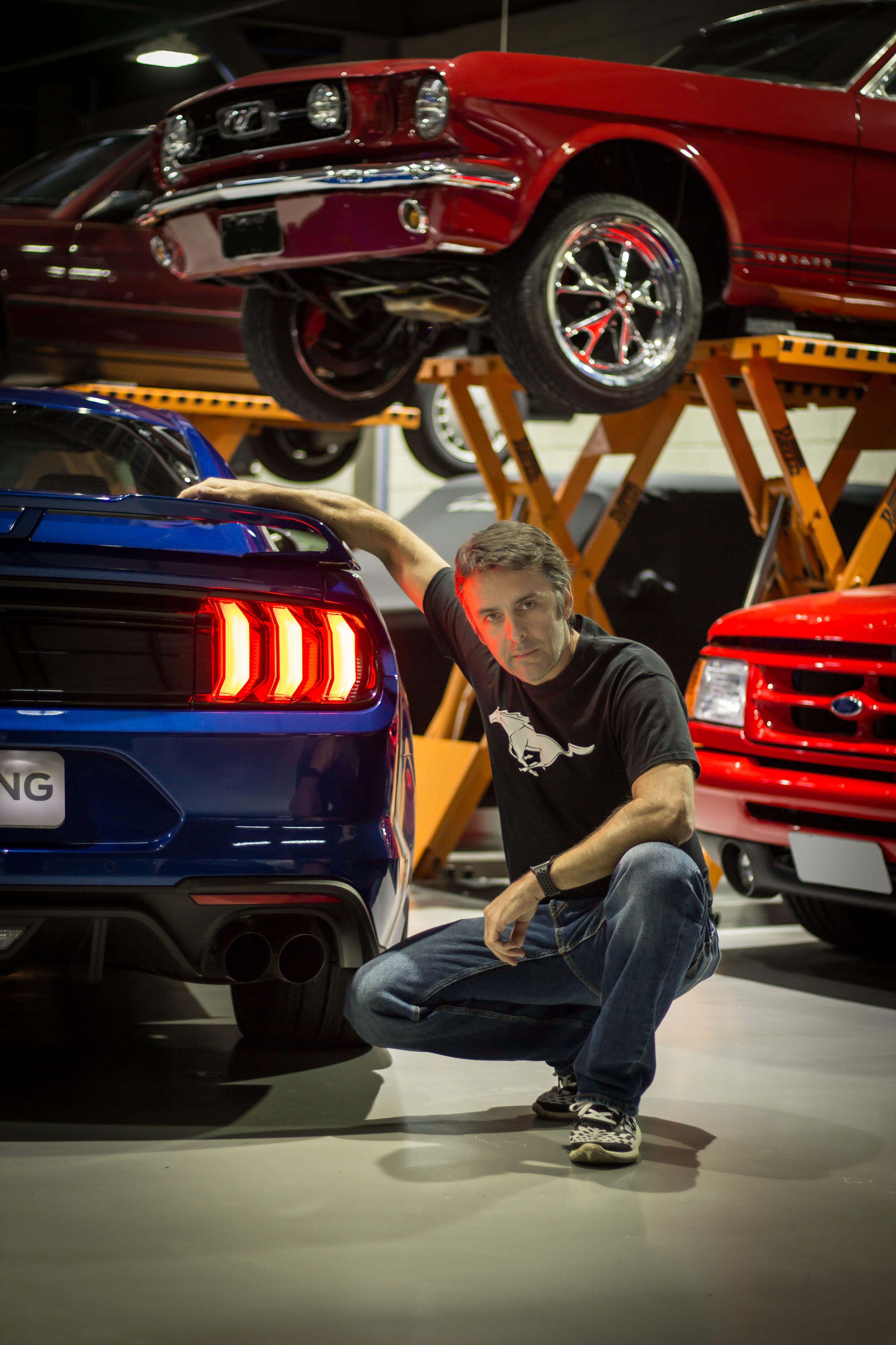 Batistinha E O Embaixador Do Mustang 2018 No Brasil Ford
