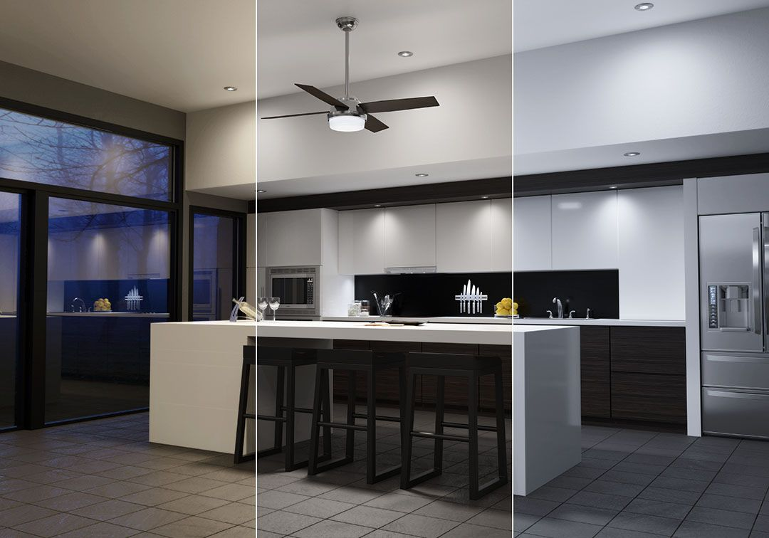 How The Right Light Bulb Color Temperature Impacts Your Mood Led Shop Lights Best Ceiling Fans Adjustable Lighting
