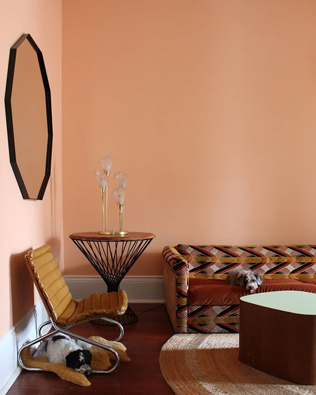 10+ Most Popular Peach Living Room Walls