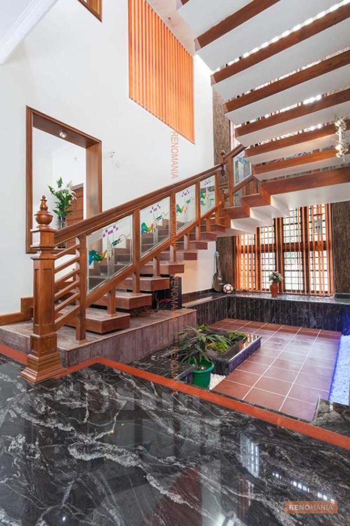 Beautiful staircase design photos in india