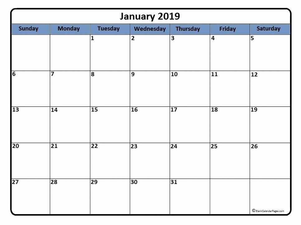Calendar February 2019 250+ 2019 Calendars Printable Template