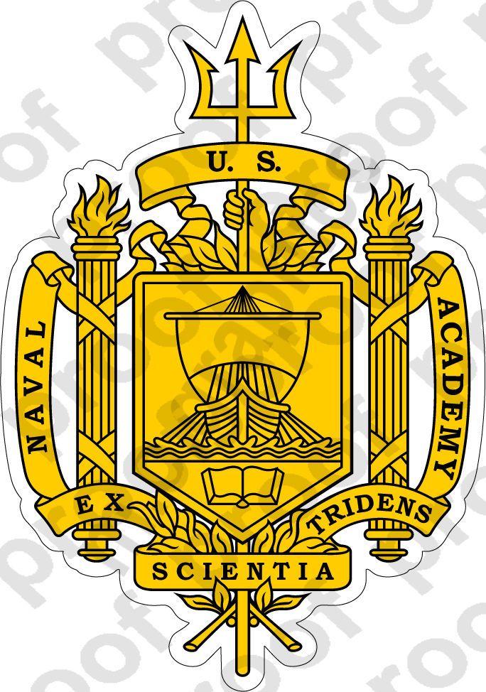 479f199e8a7  4 - Sticker U.S. Naval Academy (Usna) Insignia  ebay  Home   Garden ...