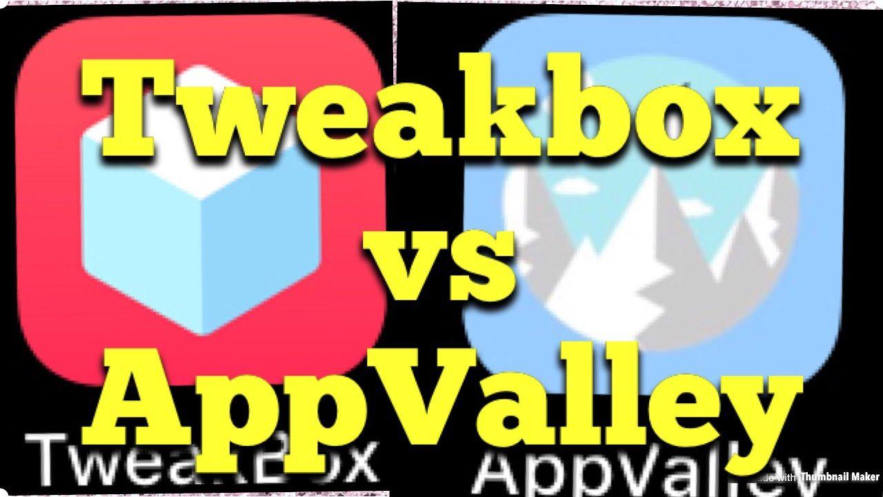 Tweakbox vs Appvalley Best Store to Get Tweaked Apps and
