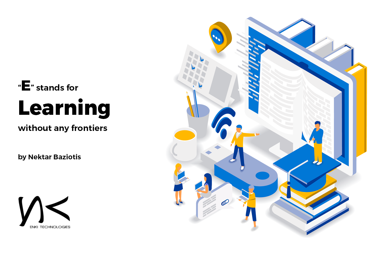 Nektar Baziotis Of Enki Technologies Based On The Westside Of Los Angeles In Santa Monica Writes About The Future Of E Elearning Learning Educational Software