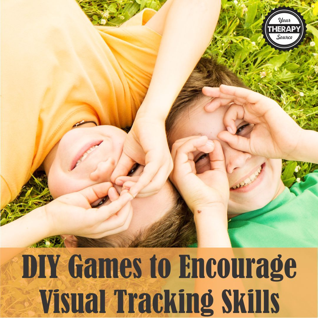 Diy Games To Encourage Visual Tracking Skills
