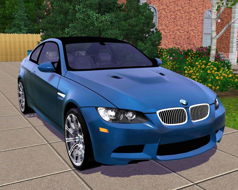 Mod The Sims 2009 Bmw M3 Coupe Sims Pinterest 2009 Bmw M3