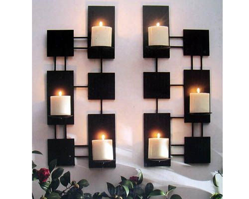 wall candle holders modern - Candle Wall Decor