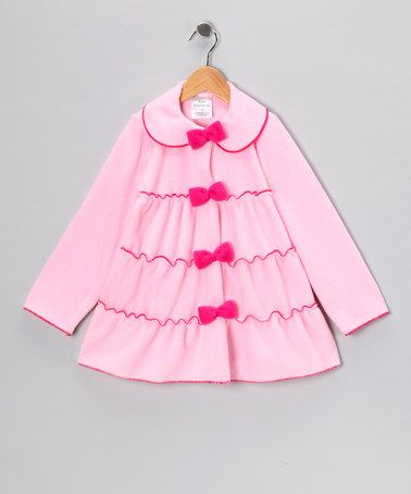 Another great find on #zulily! Pink Tiered Jacket - Infant, Toddler & Girls #zulilyfinds