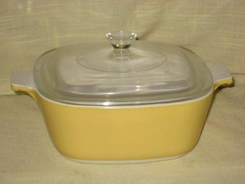 Vintage Corning Ware Erscotch 1 12 Quart Cerole W Lid P1 B Made In Usa Want Additional Info Click On The Image