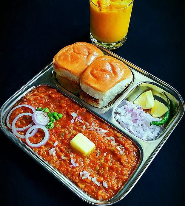 Pav Bhaji Recipe In Hindi Food Pav Bhaji Bhaji Recipe