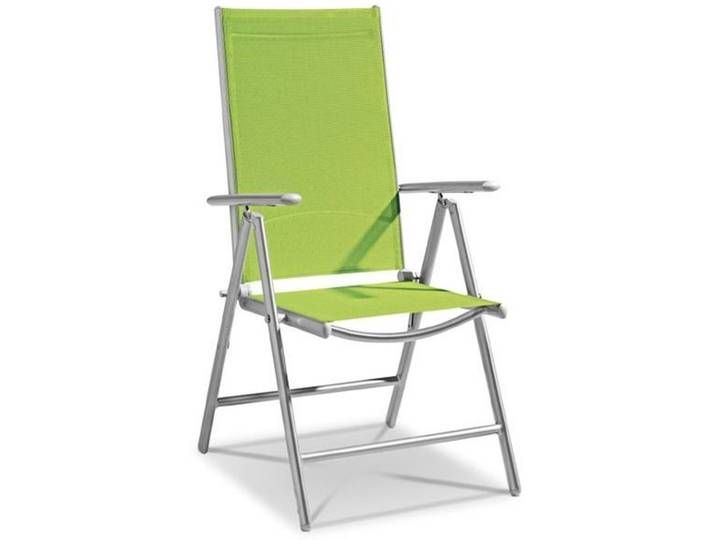 Klappstuhl Adria Alu Textilene Lime Textilene In 2020 Outdoor