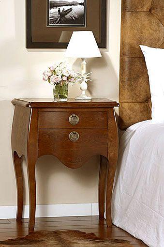 Mesa de diseno de noche versalles material madera de for Diseno de mesa de noche