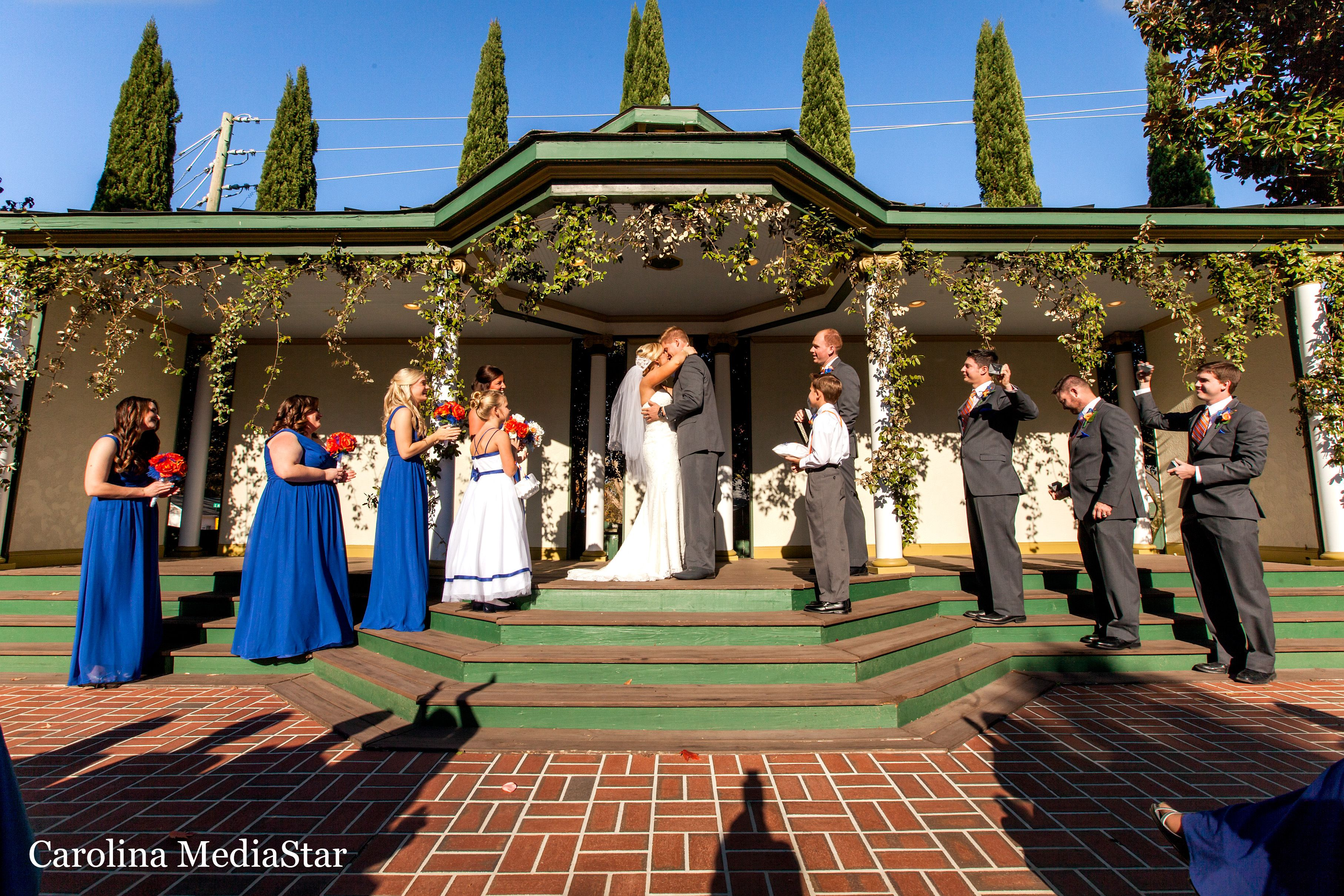 Preston Woodall House Garden Ceremony Photo by Carolina Media Star ...