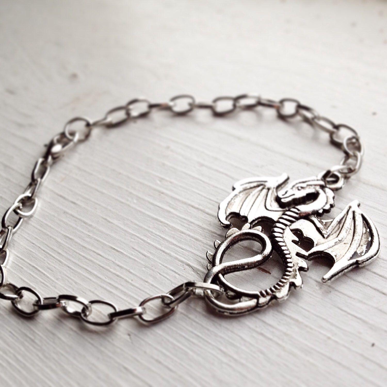 Dragon Bracelet / Boho Bohemian Renaissance Festival Costume Cosplay ...