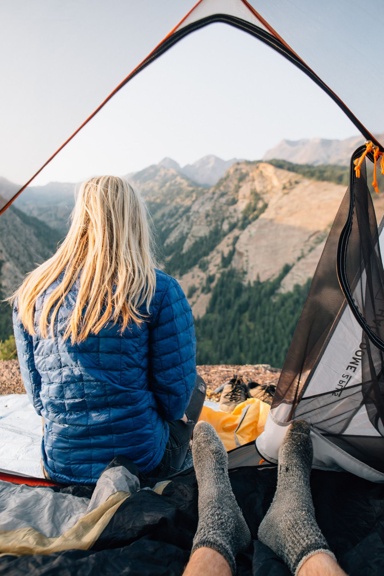 Cliffside C&ing. Big Cottonwood Canyon Utah & Cliffside Camping. | Tent camping Utah and Hiking