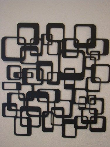 Retro Wall Art retro abstract metal wall art | metalheadartdesign - metal craft