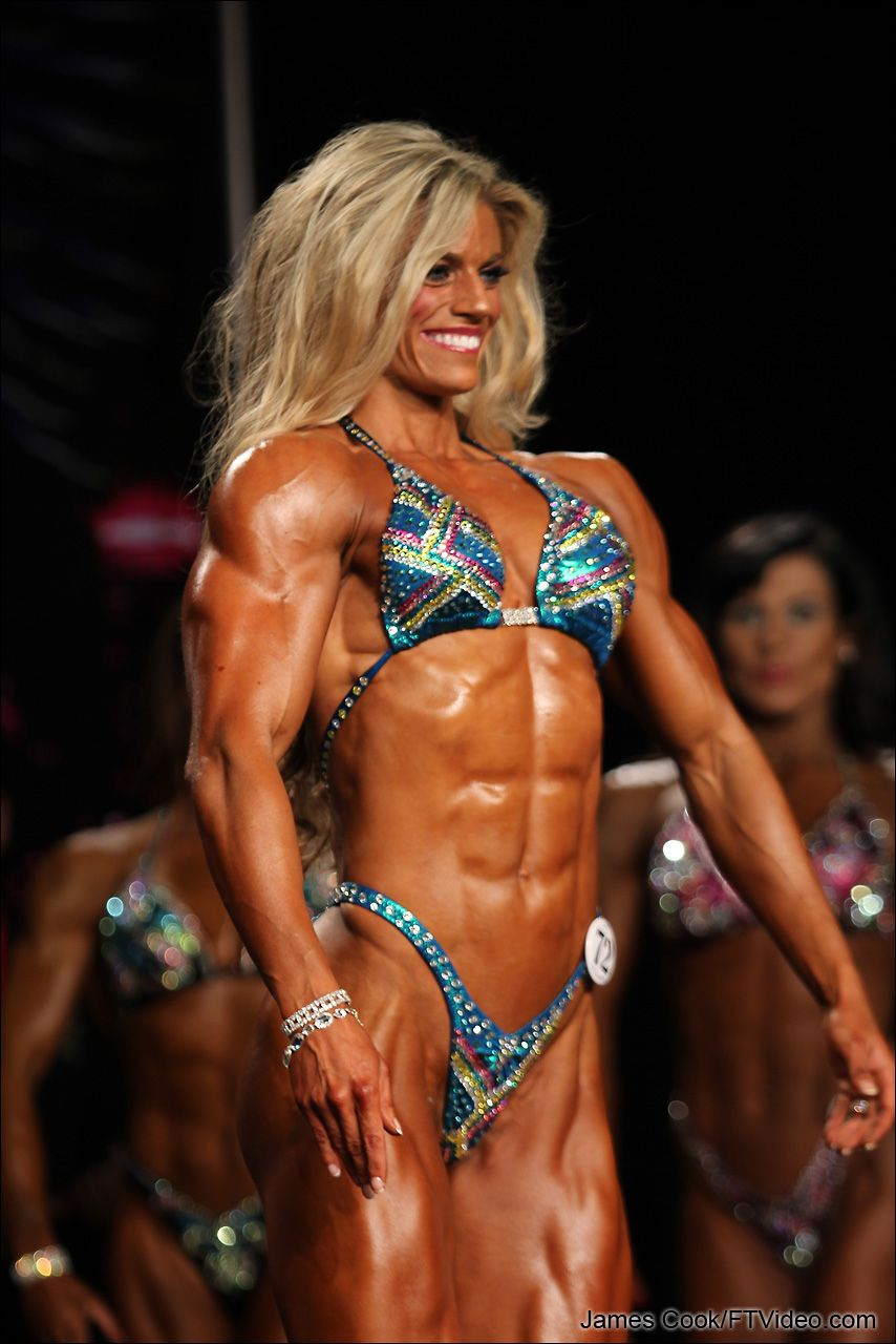 Female bodybuilder with penis