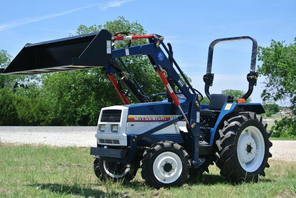 Mitsubishi Mt2501 Tractors Mitsubishi 4wd