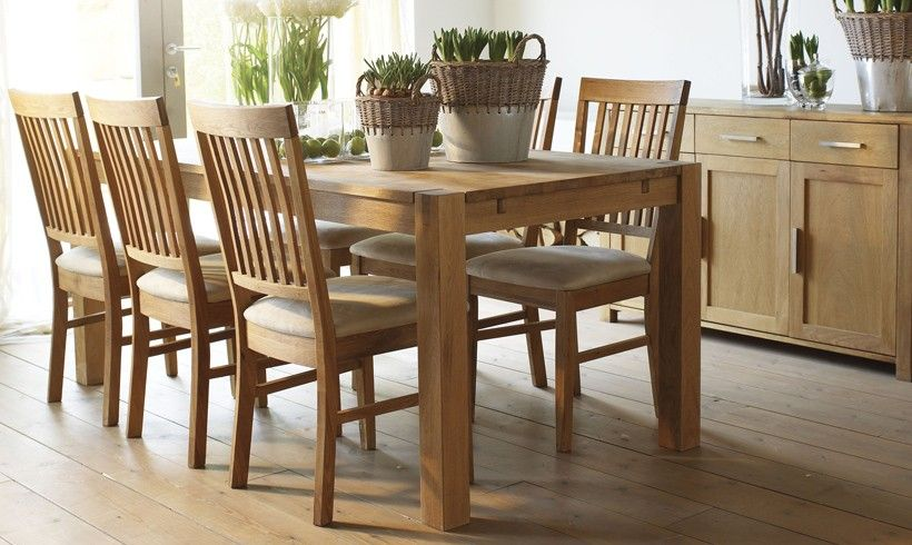 19+ Oak dining table chairs and sideboard Various Types