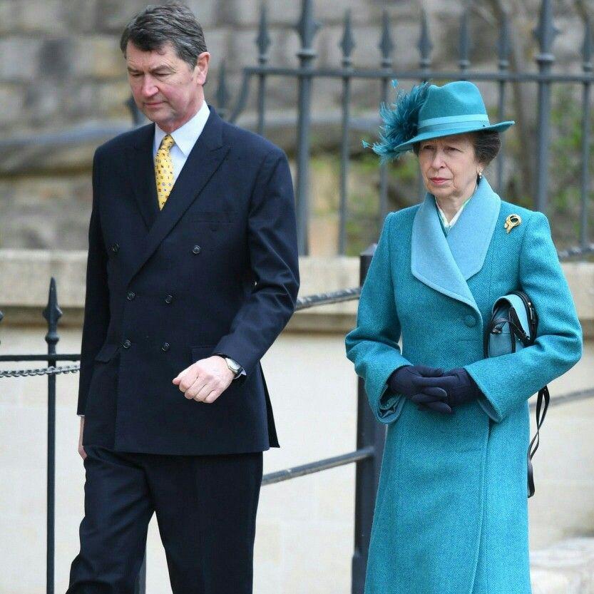 Princess Anne by husband Rear Admiral Sir