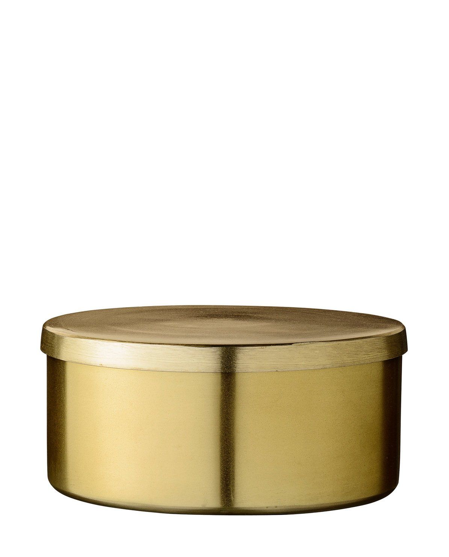Deko Box bloomingville deko-box gold (klein): amazon.de: küche & haushalt